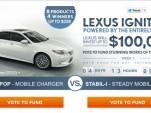Lexus Ignition Facebook contest