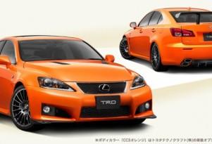 Lexus' IS F Circuit Club Sports concept.