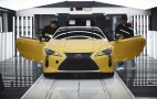 Lexus gives inside look at LC production