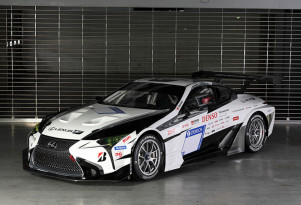Toyota Gazoo Racing Lexus LC race car