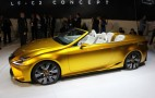 Lexus LF-C2 Concept Roadster Shows An Even Racier Side: Live Photos & Video