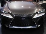 Lexus LF-CC Concept: Paris Auto Show Live Photos