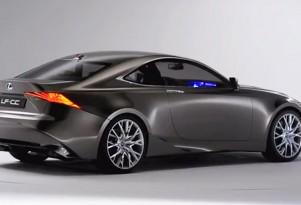 Lexus LF-CC coupe concept, 2012 Paris Auto Show