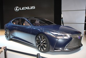 Lexus LF-FC concept, 2015 Tokyo Motor Show