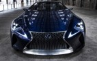 LC 500 And LC 500h Names Trademarked, Likely Presages Production Lexus LF-LC Coupe