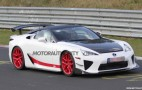 Another Wild Lexus LFA Prototype Spied At The Nürburgring