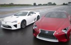 Lexus LFA Meets The LF-LC Concept: Video