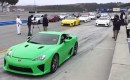 Lexus LFA owners stage the largest-ever gathering of the supercar at Laguna Seca