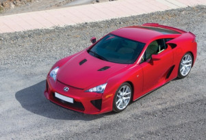 Lexus LFA - RM Sotheby's photos by Tim Scott
