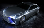 Lexus LS+ concept previews new design cues, self-driving tech