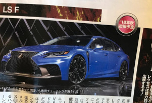 Rumored Lexus LS F published in Japanese magazine
