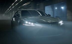 "2018 Lexus LS 500 F Sport In ""Black Panther"" Super Bowl ad"