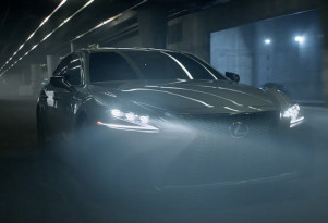 "Lexus Super Bowl 52 spot stars 2018 LS 500 and ""Black Panther"" cast"