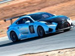 Lexus RC F GT concept competing at the 2015 Pikes Peak Hill Climb