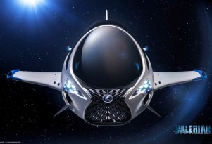 Lexus Skyjet from 'Valerian and the City of a Thousand Planets'