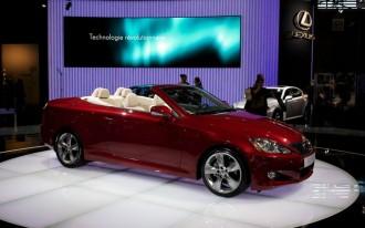 Lexus IS 350C Will Undercut BMW 335i Convertible By $7k