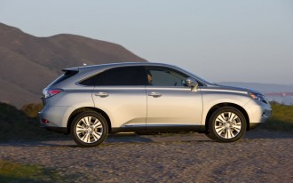 Lexus RX 450h Blessed With 32/28 mpg By EPA