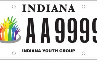 Indiana, South Carolina Offer License Plates For LGBT Equality: UPDATED