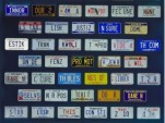 License Plates with U.S. Constitution Preamble