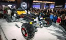 Life-size Lego Batmobile built by Chevrolet, 2017 Detroit auto show