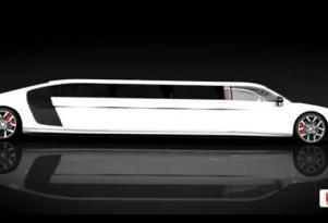 Limo Broker previews Audi R8 stretch limo