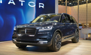 Lincoln Aviator SUV, 2018 New York auto show