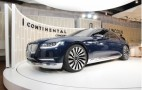 Lincoln Continental Concept Debuts At The 2015 New York Auto Show