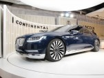 Lincoln Continental concept unveiling, New York City, March 29, 2015