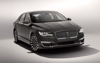 2017 Lincoln MKZ earns coveted IIHS Top Safety Pick+ award