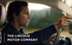 Matthew McConaughey returns for 2018 Lincoln Navigator ad spot
