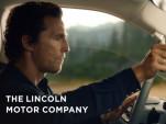 Matthew McConaughey in 2018 Lincoln Navigator ad