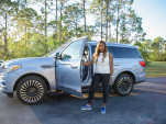 Lincoln Navigator with brand ambassador Serena Williams