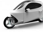 Lit Motors C-1, electric gyroscopic motorcycle [Image: Lit Motors]