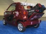Literally a golf cart: EV Electric eZone Tropic, Electric Avenue, 2010 Detroit Auto Show