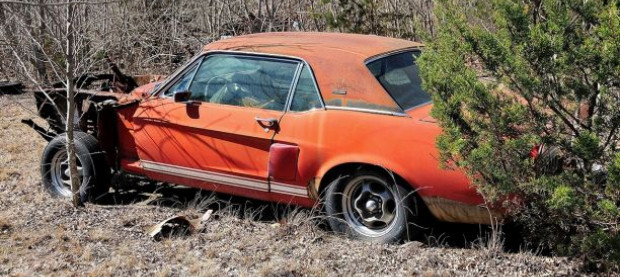 Little Red Shelby GT 500 Ford Mustang prototype found