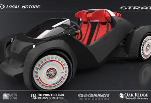 Local Motors Strati 3D-printed car concept