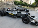 Lotus F1 Mad Max: Fury Road-themed Formula 1 car