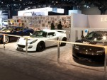 Lotus at the 2011 New York Auto Show