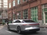 Lucid Air spotted driving through San Francisco