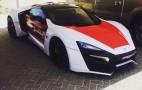 Lykan Hypersport Joins Abu Dhabi Police Fleet