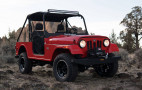 Mahindra Roxor retro off-roader now being built in Detroit