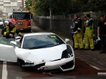 Man crashes Lamborghini Gallardo on test drive in Sydney