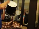 Man pays speeding ticket with pennies