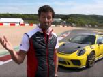 Mark Webber calls the Porsche 911 GT3 RS a brutal little weapon