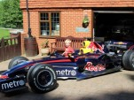 Mark Webber's Red Bull Racing Formula One car from the 2007 season