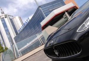 Maserati's main facility in Modena, Italy