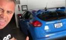 Matt LeBlanc and his 2016 Ford Focus RS