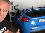 Matt LeBlanc and his 2016 Ford Focus RS