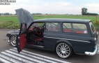 A 1967 Volvo Wagon Embarrasses A 2011 Ferrari 458 Italia: Video