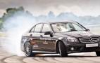 Mercedes Driver Sets 7,572-Foot Guinness World Record Drift: Video